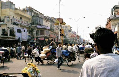 Delhi: Chandni Chowk [Hauptstraße von Alt-Delhi] (2000)