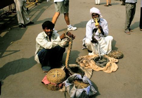 Delhi: beim Roten Fort (2000)