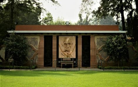 Delhi: Gandhi-Haus [Ort seiner Ermordung] (2000)
