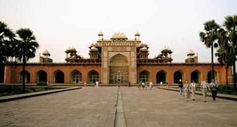 Sikandra: Akbar-Mausoleum (2000)