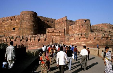 Agra: Fort - Amar-Singh-Tor (2000)