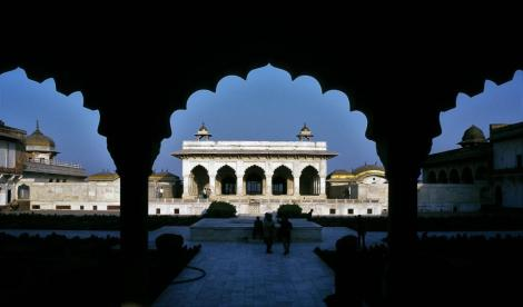 Agra: Fort - Traubengarten und Privatgemach (2000)