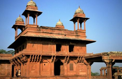 Fatehpur Sikri: Private Audienzhalle (2000)