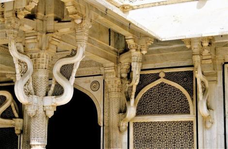 Fatehpur Sikri: Freitagsmoschee - Mausoleum Salim Chishti (2000)
