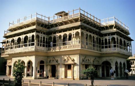 Jaipur: Maharadscha-Palast - 1. Hof (2000)