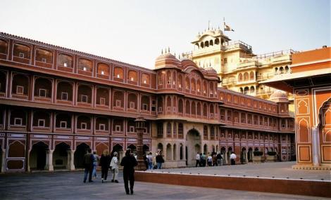 Jaipur: Maharadscha-Palast - 2. Hof (2000)
