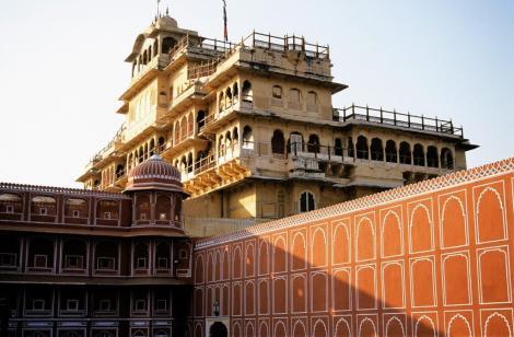 Jaipur: Maharadscha-Palast - Chandra Mahal [Hauptgebäude] (2000)