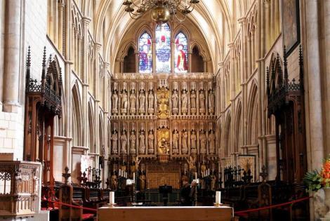 Southwark-Kathedrale: Chor (2014)