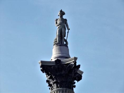 Nelson-Säule auf dem Trafalgar Square (2014)