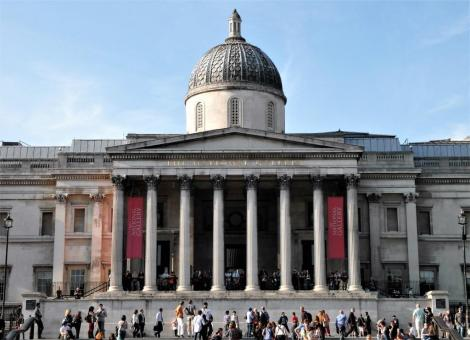 National Gallery am Trafalgar Square (2014)