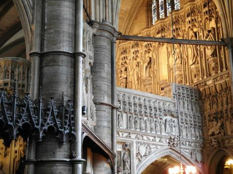 Westminster Abtei: südlicher Chorumgang (2014)