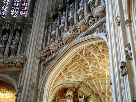 Westminster Abtei: Kapelle Heinrichs VII. (2014)