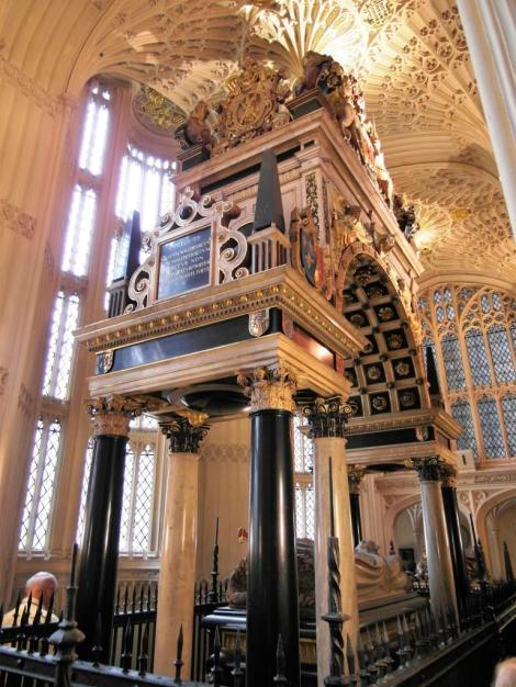 Westminster Abtei: Kapelle Heinrichs VII. - Grabmal Maria Stuarts (2014)