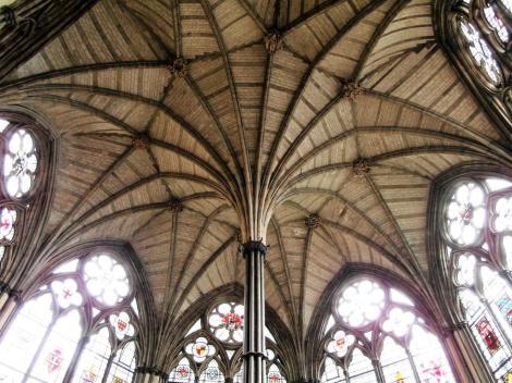 Westminster Abtei: Kapitelsaal (2014)