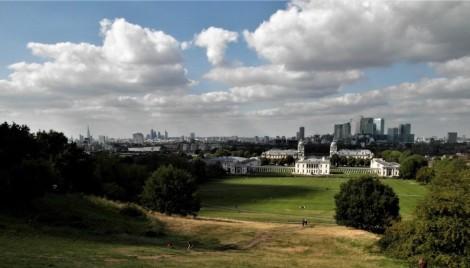 Greenwich: Blick vom Observatorium (2014)