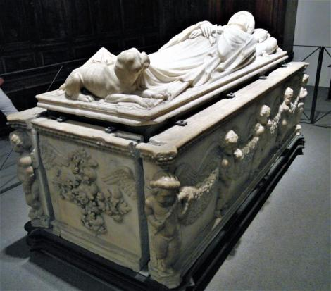 Dom: Grabmal der Ilaria del Carretta in der Sakristei (2017)