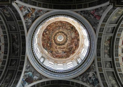 Kirche Sant' Andrea: Vierungskuppel (2017)