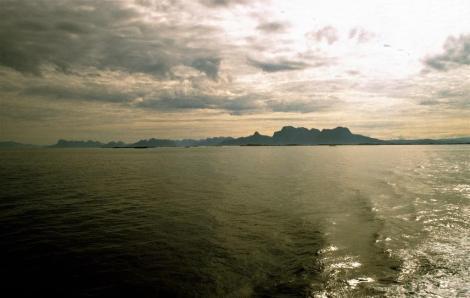 Norwegische Küste bei Bodø (1998)