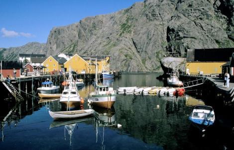 Nusfjord auf den Lofoten (1998)