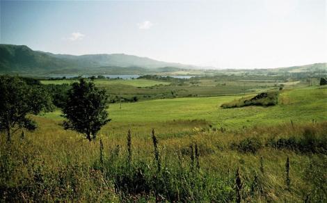 Lofoten: Landschaft bei Borg (1998)