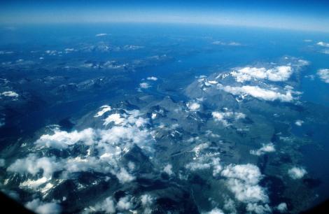 Nordnorwegen aus dem Flugzeug (1998)