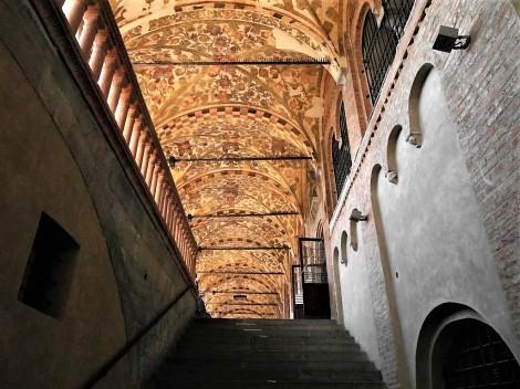 Palazzo della Ragione: Aufstieg zur Loggia (2017)
