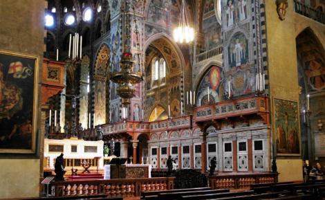 Kirche Sant' Antonio: Chor (2017)
