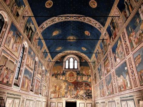 Arenakapelle, von Giotto ausgemalt (2017)