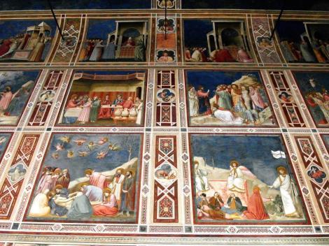 Arenakapelle - Nordwand - biblische Szenen von Giotto (2017)