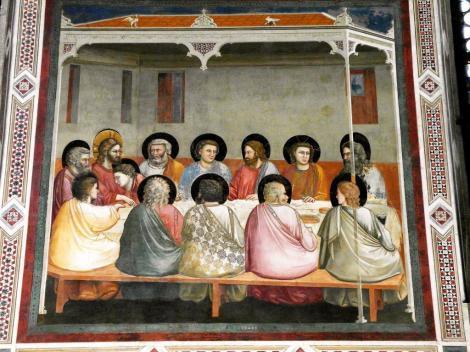 "Arenakapelle - Südwand: ""Abendmahl"" von Giotto (2017)"