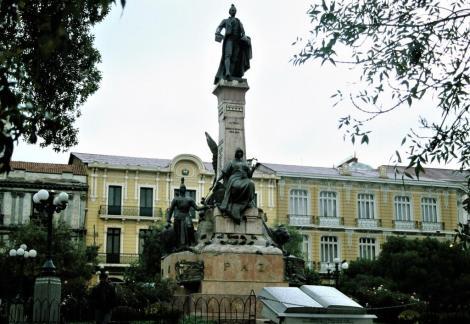 La Paz: Plaza Murillo (2005)