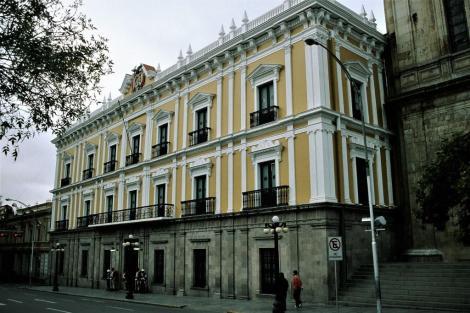 La Paz: Regierungspalast (2005)