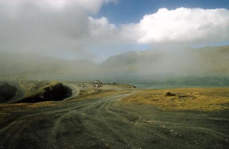 Paso La Cumbre in der Cordillera Real (2005)