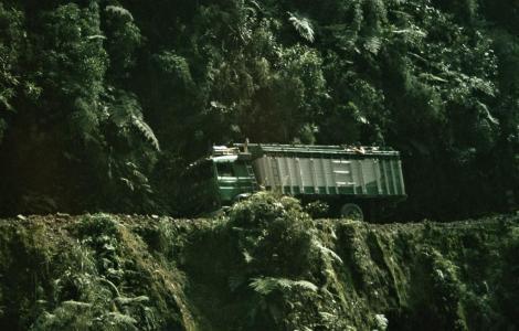 "Yungas-Straße [""Camino de la Muerte"" = Todesstraße] (2005)"