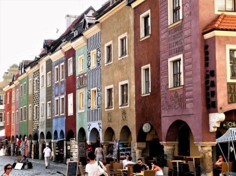 Posen [poln. Poznan]: Krämerhäuser auf dem Altstädtischen Ring (2012)