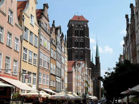 Jopengasse mit Marienkirche (2012)