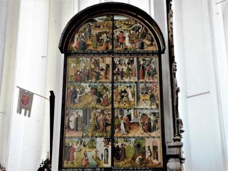 Marienkirche: Zehn-Gebote-Tafel (2012)