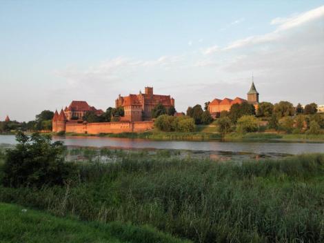 Bild der Marienburg (Malbork)