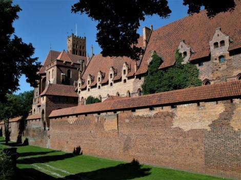Bild der Marienburg, Malbork