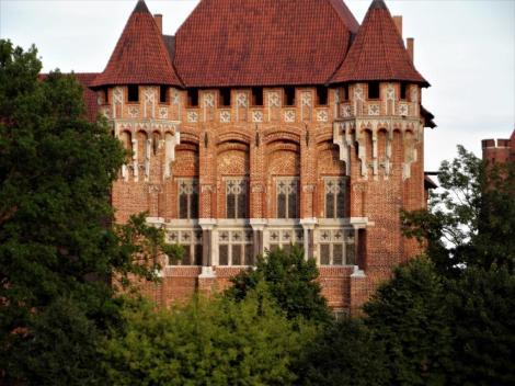 Bild der Marienburg, Malbork - Hochmeisterpalast