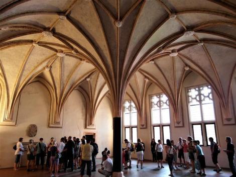 Bild der Marienburg, Malbork - Winterremter im Mittelschloss