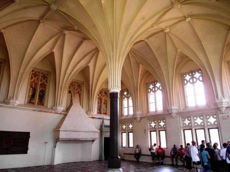 Bild der Marienburg, Malbork - Sommerremter im Mittelschloss
