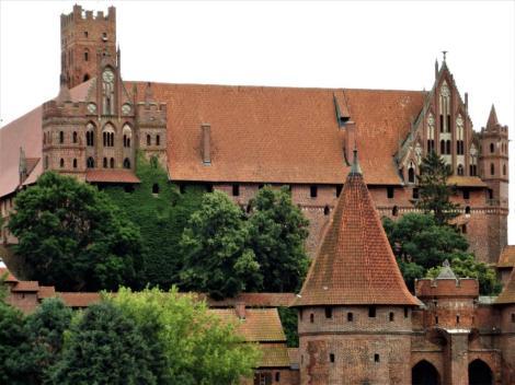 Bild der Marienburg, Malbork - Hochschloss