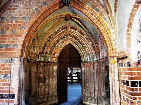 Bild der Marienburg, Malbork - Goldene Pforte im Hochschloss