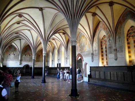 Bild der Marienburg, Malbork - Kapitelsaal im Hochschloss