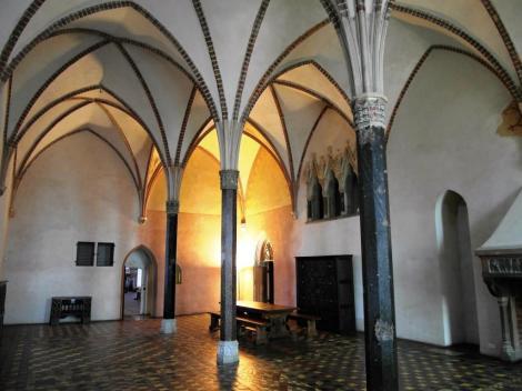 Bild der Marienburg, Malbork - Herrenstube im Hochschloss