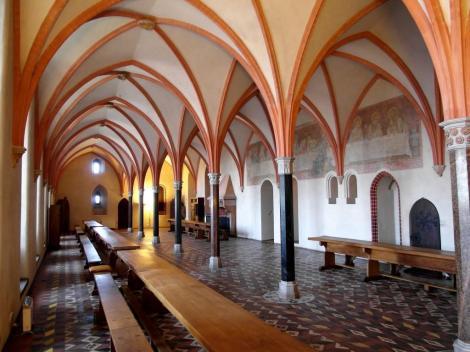 Bild der Marienburg, Malbork - Refektorium im Hochschloss
