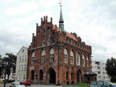 Bild des Rathauses in Marienburg, Malbork