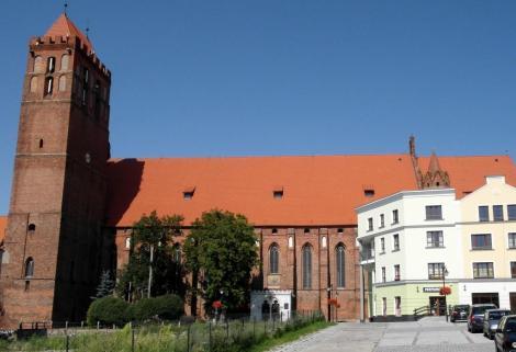 Bild des Domes in Marienwerder, Kwidzyn