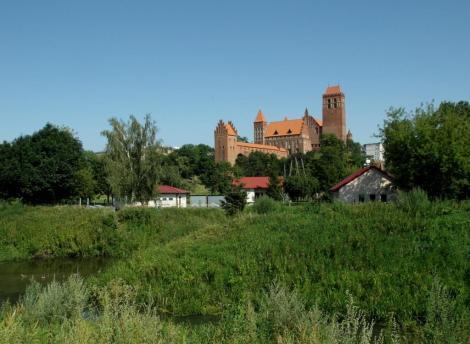 Bild der Burg des Domkapitels Marienwerder, Kwidzyn
